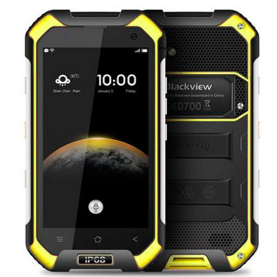 Смартфон Blackview BV6000S Sunehine Yellow