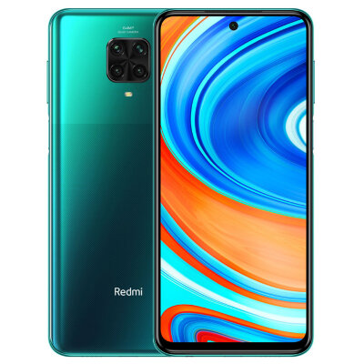 Смартфон Xiaomi Redmi Note 9 PRO 6/128GB Tropical Green/Зеленый Global Version EU