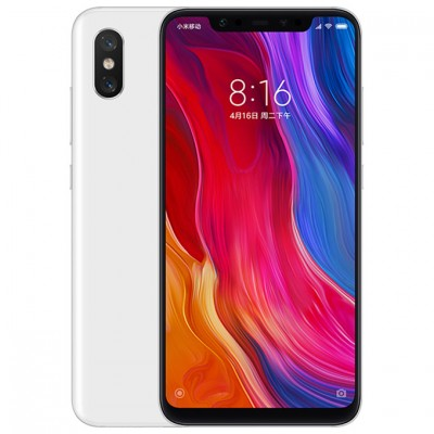 Смартфон Xiaomi Mi8 6/128GB White/Белый Global Version EU
