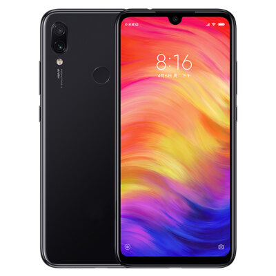 Смартфон Xiaomi Redmi Note 7 4/64GB Black/Черный Global Version EU