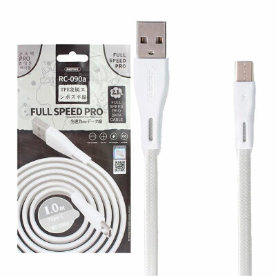 Кабель Remax Full Speed Pro Series RC-090A USB Type-C (Серебрянный)