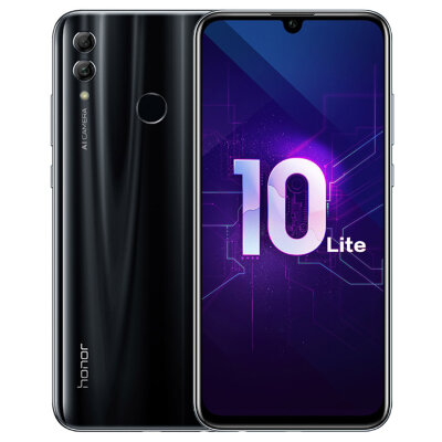 Смартфон Huawei Honor 10 Lite 3/64Gb (HRY-LX1MEB) Black/Черный US