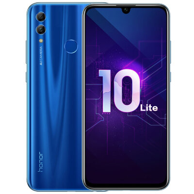 Смартфон Huawei Honor 10 Lite 3/64Gb (HRY-LX1MEB) Blue/Синий US