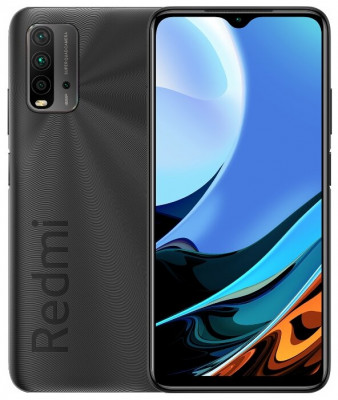 Смартфон Xiaomi Redmi 9T 4/64GB Carbon Grey/Серый Global Version
