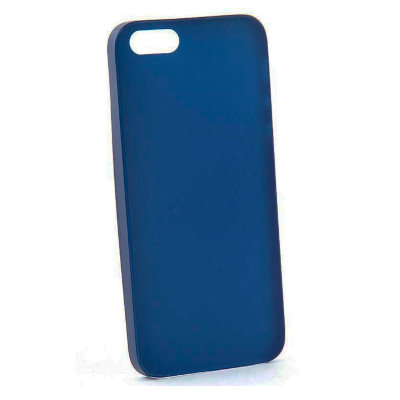 Чехол накладка Ensi для Apple iPhone SE/5s 0.3мм Dark blue