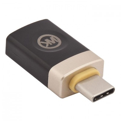 Адаптер OTG WK USB Type-C to USB (черный)