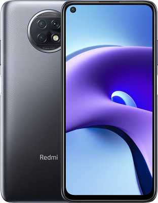 Смартфон Xiaomi Redmi Note 9T 4/64GB NightFall Black/Черный Global Version