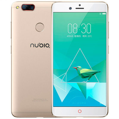 Смартфон ZTE Nubia Z17 mini 4/64GB NX569J White Gold