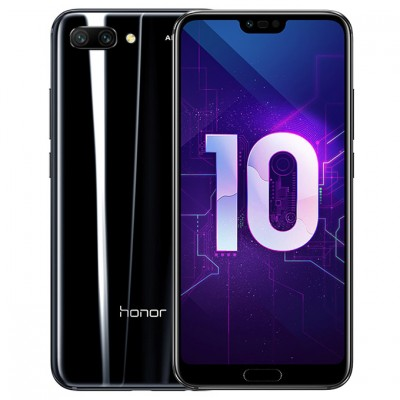 Смартфон Huawei Honor 10 4/128Gb COL-L29 Black/Черный US