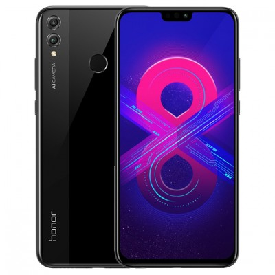 Смартфон Huawei Honor 8X 4/128Gb JSN-L22 Black/Черный US