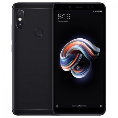 Смартфон Xiaomi Redmi Note 5 4/64Gb Black/Черный