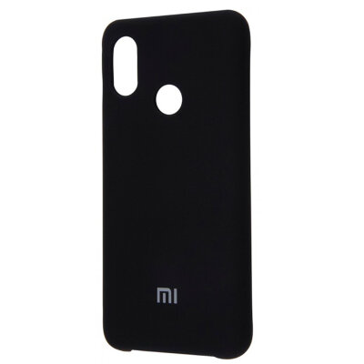 Чехол-накладка Mi Original Silicone Cover для Xiaomi Redmi Note 7 черный