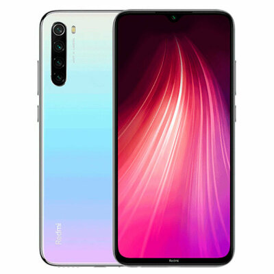 Смартфон Xiaomi Redmi Note 8T 4/128GB White/Белый Global Version EU