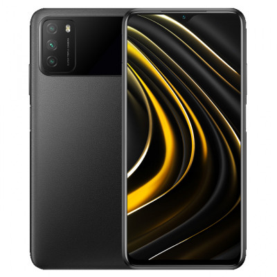 Смартфон Xiaomi Poco M3 4/128Gb Power Black/Черный Global Version EU